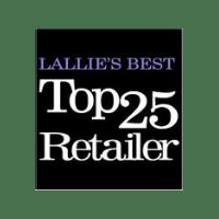Lallie's Best Top 25 Retailer logo