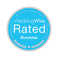 WeddingWire Rated Business logo
