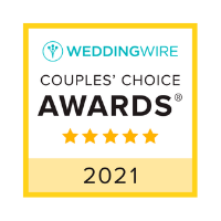 WeddingWire Couples' Choice Awards 2021 logo