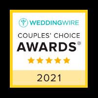 WeddingWire Couples' Choice Awards 2021 logo